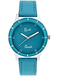 Cavalli Blue Dial Analog Watch- for Women