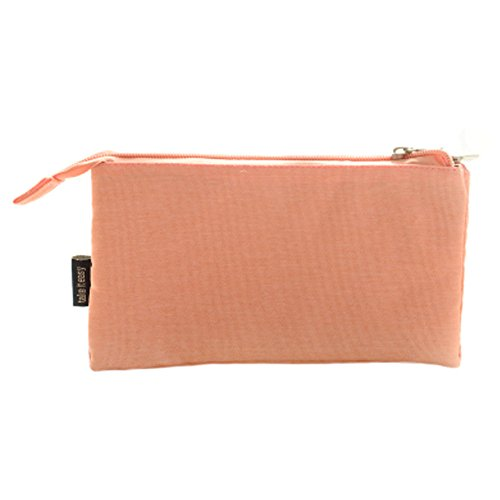 Multipurpose papeterie Pochette Trousse Pen Sac Cosmétique Sac, Orange/rose