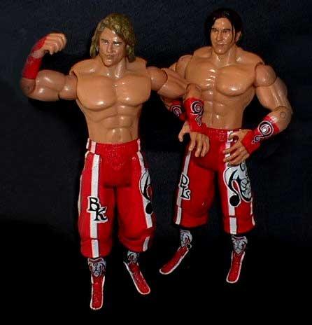 WWF WWE TNA Wrestling 15,2cm Kendrick & London Zahlen [nicht verpackt]