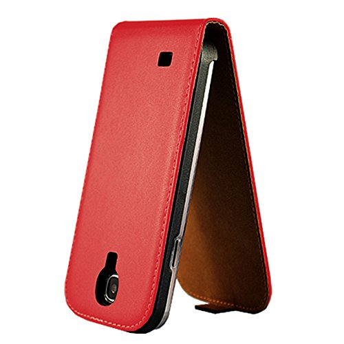 eximmobile – Flip Case Cover Per Apple iPhone in 11 colori | PU Custodia in pelle Apple iPhone telefono caso | Custodia a Libro in Pelle PU | Cover custodia | Custodia in finta pelle Rot