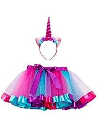28646feea8988 De feuilles Lot de 2 Jupon   Bandeau Robe Bébé Fille Tutu Dress Doux Motif  imprimé
