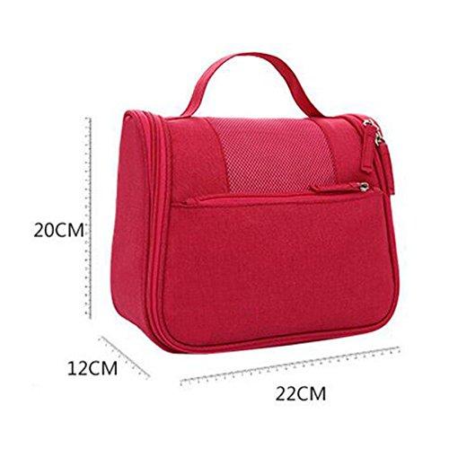 Jia Qing Sacchetto Cosmetico Di Corsa Di Viaggio Multifunzionale Della Borsa Di Viaggio Impermeabile Sacchetto Cosmetico Di Grande Capacità Orange