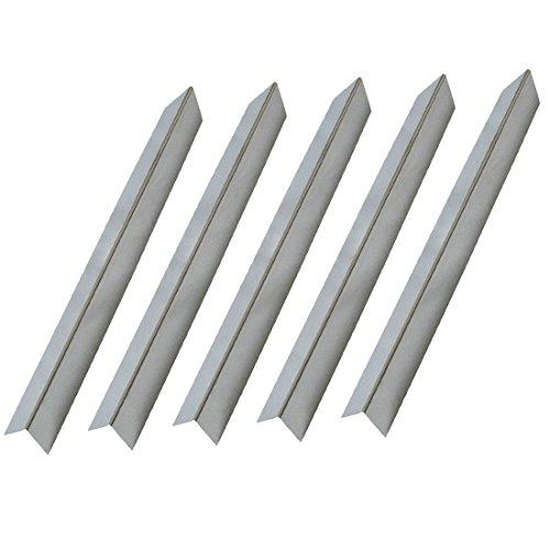 Onlyfire Grill à gaz de rechange en acier inoxydable Barres de surface/plaque de chaleur pour Weber 7537, Lot de 5, 57,2 cm