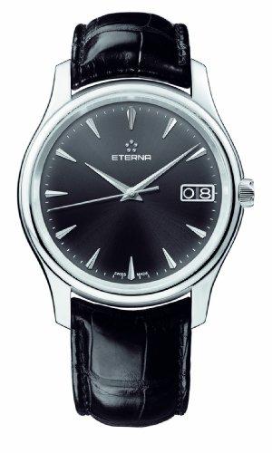 Eterna Vaughan Big Date Uhr, Kaliber Eterna 3030, Shapir-Glas,7630.41.50.1186