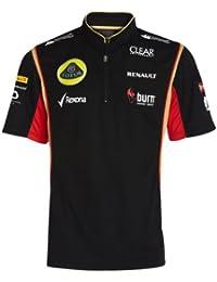 Lotus F1 equipo Zip Polo, hombre, negro, XL