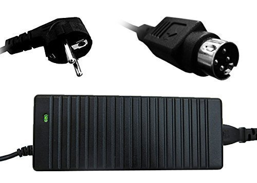 troy LCD-24V5A-4pin Netzteil Trafo 24V 5A LED TFT Tisch Schaltnetzteil Monitor 4 Polig Stecker schwarz -