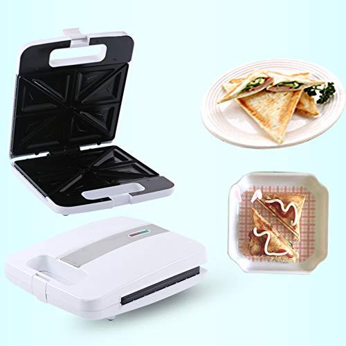 0Miaxudh Sandwich-Toaster, elektrischer Sandwich-Maker-Grill-Tray-Toaster, Multifunktionsküche Frühstücks-Brot-Maschine 1200W