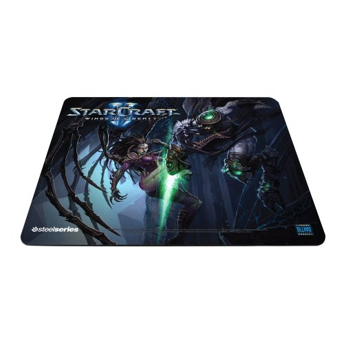 SteelSeries QcK StarCraft II Kerrigan vs. Zeratul Edition Gaming Mauspad