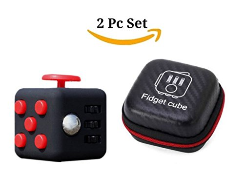 fidget-cube-with-case-desk-toy-set-clicker-joystick-buttons-for-stress-anxiety-focus-adhd-autism-adu
