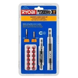 Ryobi Guide (Ryobi 15 pc Magnetic Screw Guide Set AR2002 by Ryobi)