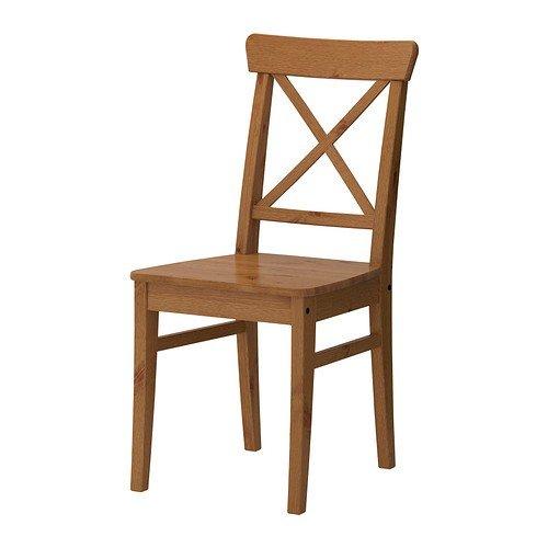 IKEA Stuhl INGOLF Kiefer massiv, antik gebeizt (Ikea Esszimmer-möbel)