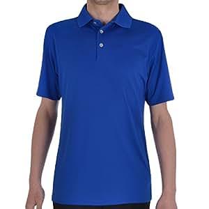 Ashworth Mens Performance EZ-SOF Short Sleeve Solid Golf Polo Shirt - Grey - S