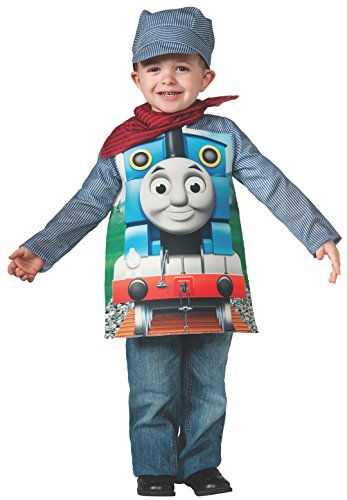 Rubies Thomas and Friends, Deluxe Thomas the Tank Engine and Engineer Costume, Child Small - Small One Color by Rubie's (Tank-kostüm Das Thomas)