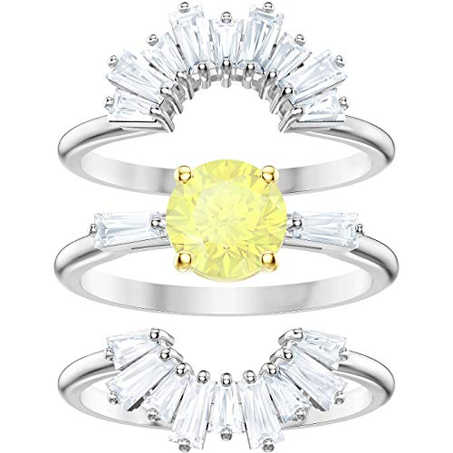Swarovski Damen-Ringe Edelstahl Kristall \'- Ringgröße 50 5482498