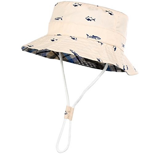 Kids Cotton Bucket hat reversible