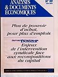 Telecharger Livres ANALYSES DOCUMENTS ECONOMIQUES No 99 du 01 06 2005 ECONOMIQUE ET SOCIAL GAGNER PLUS POUR TRAVAILLER TOUS L INDISPENSABLE AUGMENTATION DES SALAIRES PAR NASSER MANSOURI GUILANI LE BUDGET 2005 RIGUEUR POUR LE PLUS GRAND NOMBRE ALLEGEMENTS D IMPOTS POUR LES MENAGES PRIVILEGIES ET LES ENTREPRISES PAR JEAN RAYMOND LES VENTES D IMMEUBLES A LA DECOUPE ET LE REGIME FISCAL DES GRANDES SOCIETES IMMOBILIERES PAR JEAN RAYMOND FACE A L AUTISME PATRONAL ET GOUVERNEMENTAL L EXIGENCE DE DEMOCRATIE (PDF,EPUB,MOBI) gratuits en Francaise