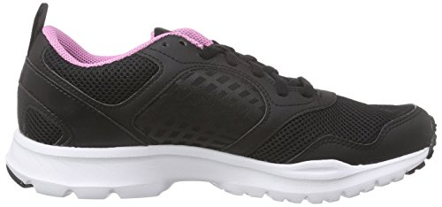 Laufschuhe Damen Icono Pink Schwarz White Rush Reebok Gravel Black UqydREUw