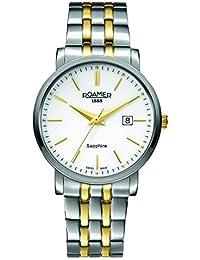 Roamer Herren-Armbanduhr Classic Line Analog Quarz 709856 SGM1