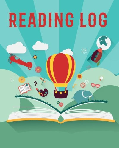 Reading Log: Stories in Book Style Reading Lover Journal Book Size 8x10 Inches 104 Pages: Volume 4 (Record Reading Book) por Michelia Creations