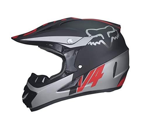 SJASD Helmets Casco da Motociclista ECE Jet Crash Modular Casco Omologato Full Face con Parasole per Adulto Casco Anteriore Flip Up,F,L