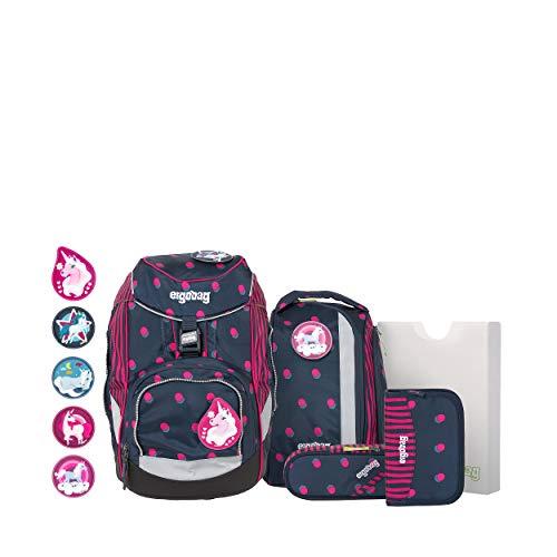 Ergobag Pack-set - Zaini Unisex Bambini, Multicolore (Shoobi Doobear), 35x22x25 cm (B x H T)