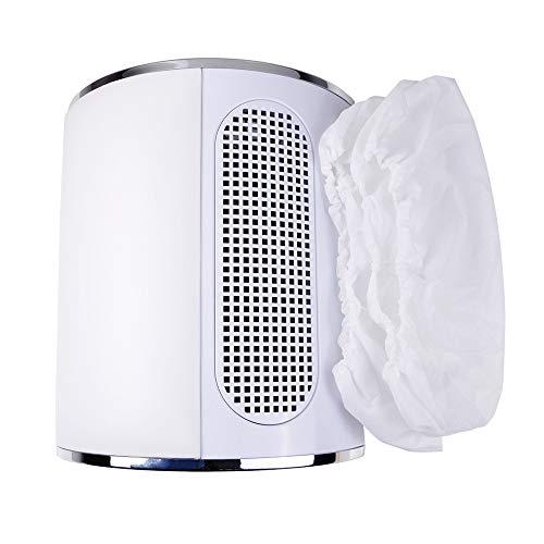 ZEELIY Tragbarer Ventilator für Nail Art Staubabsaugung 3 Ventilatoren Staubsauger Maniküre Absaugung