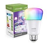 Novostella 12W 1150LM, Ampoule Connectée WiFi, E27 LED, RGBCW 2700K-6500K Dimmable, Compatible avec Alexa Google Home IFTTT, Lampe d'ambiance Couleur Intelligente, Équivalent 100W