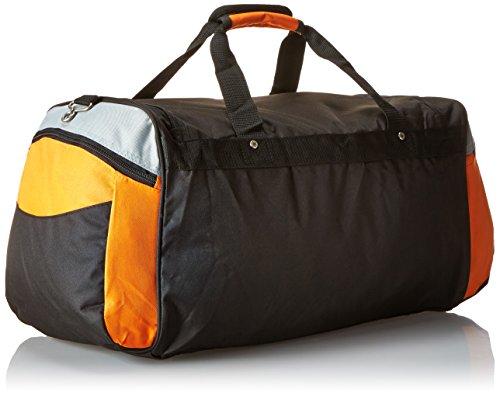 Everest Deluxe Sports Duffel bag, Orange (arancione) - S232-ORG/LGR/BK Orange