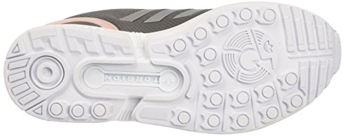 adidas Zx Flux, Sneakers Basses Femme, Beige Gris (Granit / Silver Mt / C Black)