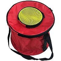 Cuadrados Plegable Cubo de Lona Plegable Transportador de Pescado Bolso del envase del Agua para la Pesca Regard