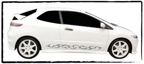 DD Dotzler Design 1005_25 Autodekor Tribal Tuning Aufkleber für Auto Set 1x linke Seite 1x rechte Seite (Auto-design)
