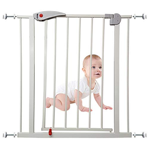 Baby Safety Gate Pet Dog Barrier Home Stairs Doorway Safe Secure Guard by Janoon®  Janoon Ltd