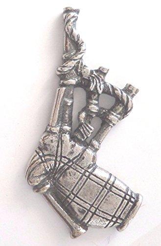 Schottischer Dudelsack Schottland Pin Badge Made in English Pewter