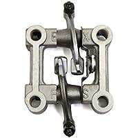 sourcingmap® Gris 70mm Longitud de la válvula Balancín conjunto de brazo Rockeros basculante Ensamblado Kit Recambio para motocicleta GY6-125 Moto
