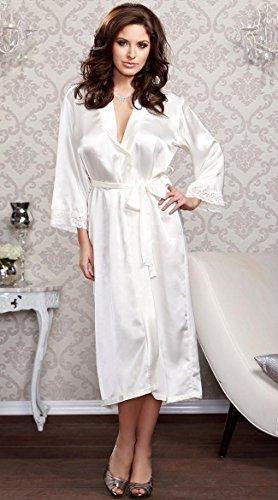 Damen Unterwäsche Großes Bad Bademantel Bequemes Bad Casual Pyjamas , pink White