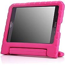 MoKo Samsung Galaxy Tab A 8 Pulgadas 2015 Tableta Funda - Ligero y super protective funda diseñar especialmente para los niños, FUCSIA