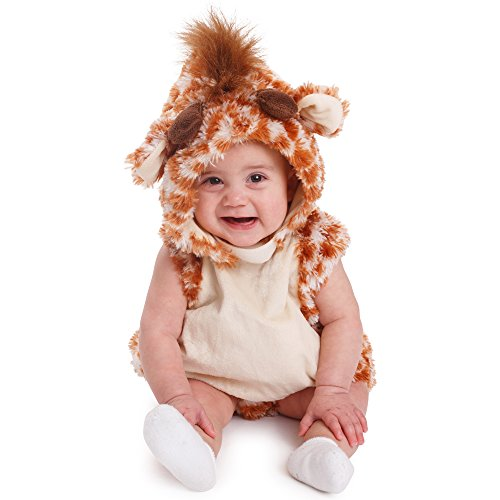 Dress Up America Giraffe Säuglingkostüm Kleinkind Halloween ()