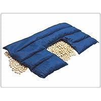 Kirschkern-Nackenkissen ECKIG, dunkelblau, 100 % Baumwolle - Nackenhörnchen, Kirschkernkissen preisvergleich bei billige-tabletten.eu