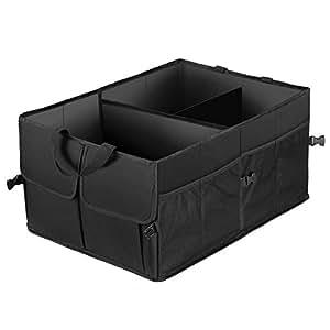 ghb rangement coffre voiture sac de rangement voiture repliable multifonction. Black Bedroom Furniture Sets. Home Design Ideas