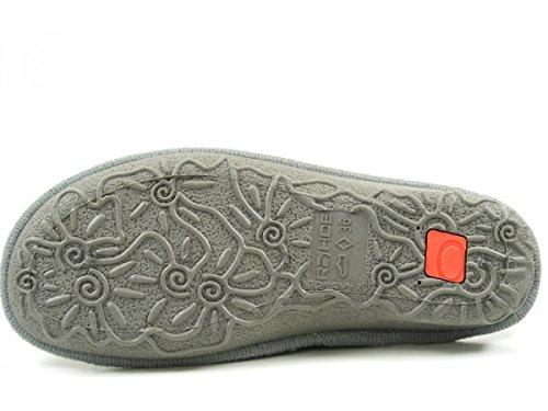 Rohde 2262 Emden Pantofole Donna Grau