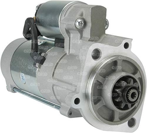 Anlassermotor HC-Cargo 114167 TCM Gabelheber KUBOTA BOBCAT Diesel V3300 12 Volt 9 Zähne 3,0 KW (Kubota Diesel Motor)