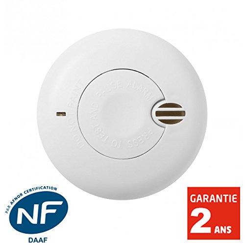AngelEye - Détecteur de fumée NF Angeleye BASICS - SO-AEB-100-FR - Autonomie 1 an - Garantie 2 ans