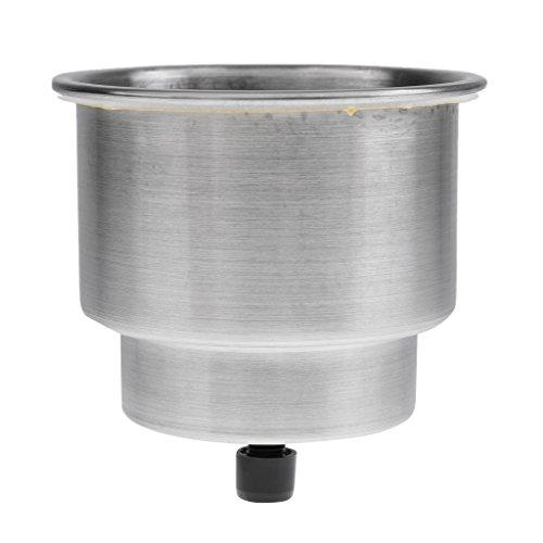 Sharplace Universal Getränkehalter für Boote Auto KFZ LKW Becherhalter aus Edelstahl Dosenhalter