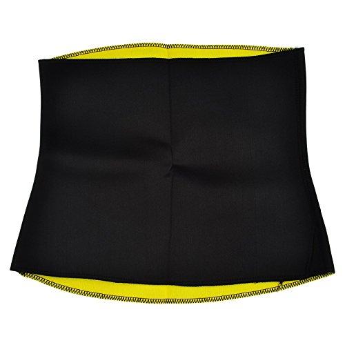 Evana Tummy Trimmer Waist Cincher Girdle Corset Hot Sweating Body Belly Shapers Slimming Belt Sport workout Shapewear Fat Blaster Power Tuck Training Posture (XXX-Large)