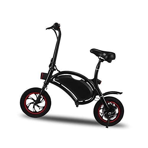 YYD Ciclomotor eléctrico Inteligente - Mini batería de Bicicleta sin Pedal de conducción Inteligente...