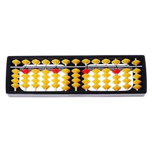 Manyo Abak mit 13 Geschwindigkeiten, Abaci mit farbigen Perlen, Zählrahmen, Lernwerkzeuge für Kinder, Mathematikspielzeug