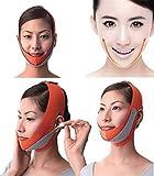 JHKJ Anti Falten Face Lift V Form Linie Schlank up Gürtel Gesichts Abnehmen Bandage Reduzieren Doppelkinn Face Lifting Massager,C
