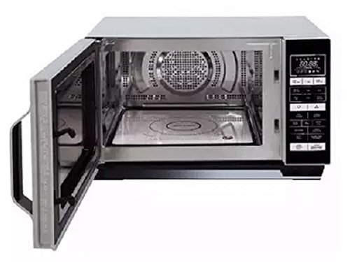 SHARP R760SLM Microwave with Grill – Silver & Black