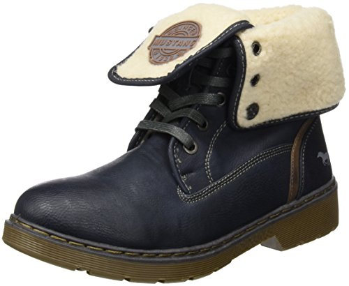 Mustang 1235-602, Stivaletti Donna, Blu (820 Navy), 36 EU