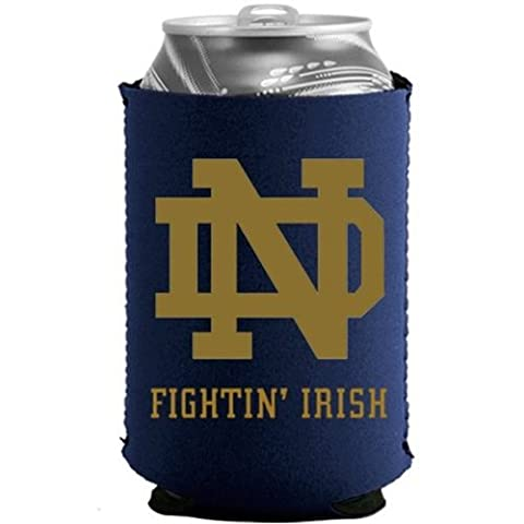 Notre Dame Fighting Irish Ncaa Blue Collapsible Can Cooler - by Kolder (Irish Ncaa)